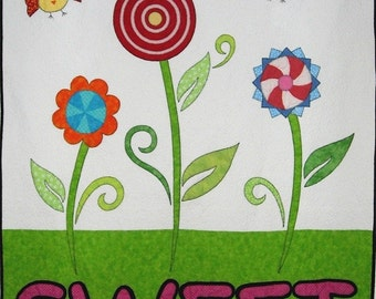 SWEET Applique Quilt Pattern