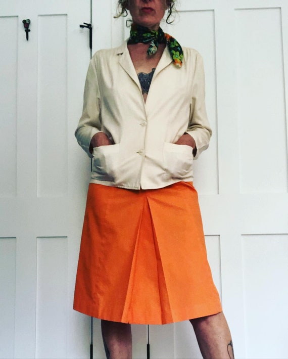 1980s Cassidy silk Blouse