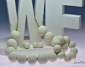 Wilma Flintstone Halloween Costume Jewelry Collection, Necklace, Bracelet, Stud Earrings and Ring, Polymer Clay, Award Winner, Halloween