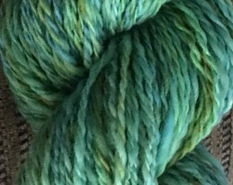 Emerald Wool - Hand Spun Falkland Wool