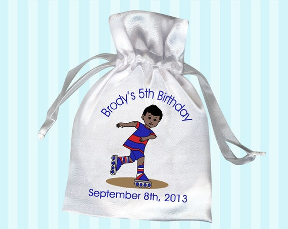 Roller Skating Birthday Party Favor Bags Pack Of 10 Boy
