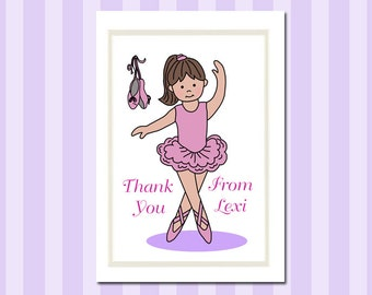 Ballerina Thank You Notes (Pack of 10)