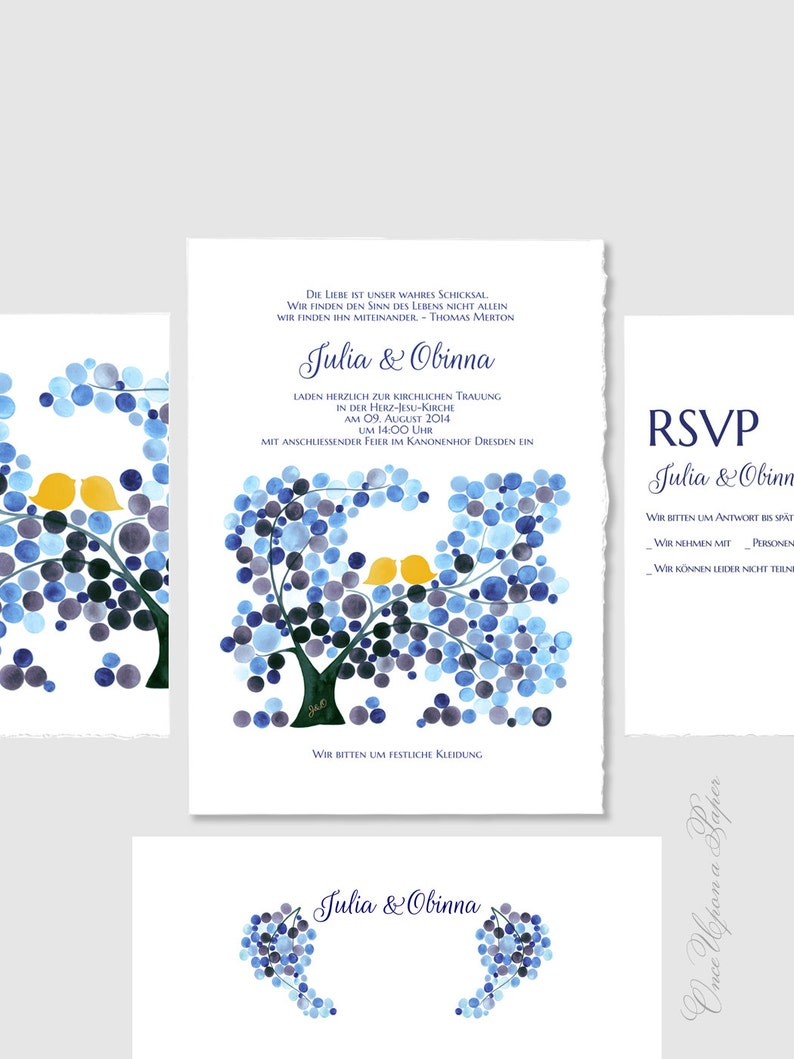 graphic about Printable Invitations Kit known as Marriage Invitation fastened Printable invitations suite - Do it yourself Package Help save the Day Marriage ceremony Invites Thank By yourself Playing cards - watercolor invitations as a result of Elena