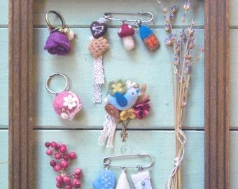 Master Sawawa Collection 01 - Stylish Felt Wool Accessories - Japanese craft book