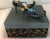 Boîte à bijoux,boîte à souvenir,coffret à trésor,boîte décorative,poupée d'art,artistique coffret,boîte à cadeau