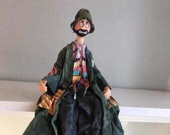 sol et gobelet,sol,radio-canada,clown,la boîte à surprise,Marc Favreau,poupée d'art,poupée artsitique,poupée artistique,