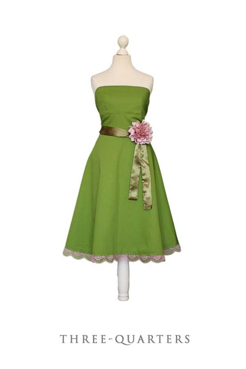 BRIELLE   Abito verde chiaro verde abiti da damigella  ec941ee0826