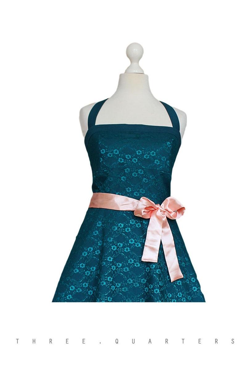 75c0941ca8 Dress wedding dress petrol blue lace wedding vintage
