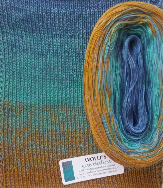 Mermaid Medley 2 Color Changing Cotton Yarn 480 Etsy