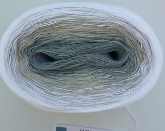 ICE CRYSTAL II - Color Changing Cotton yarn - 480 yards/100 gr  Fingering Weight