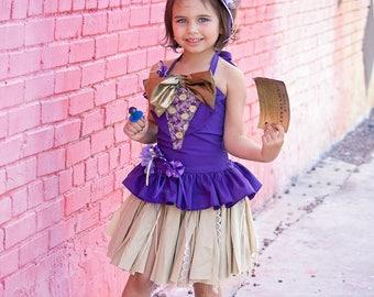 Willie Wonka Inspired Costume Charlie Chocolate Factory Costume Chocolate Girl Costume Halloween Costume Girls Halloween Candy Dress  sc 1 st  Etsy & Girls costume | Etsy