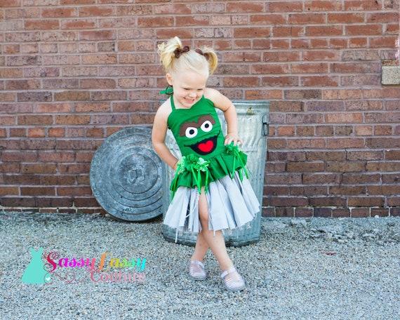 Girl/'s Oscar the Grouch Costume