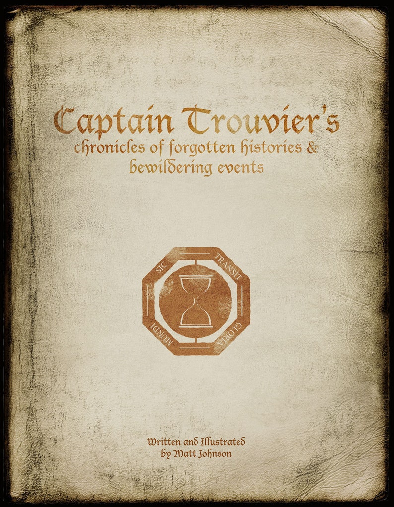 Captain Trouvier's Chronicles... an illustrated story image 0