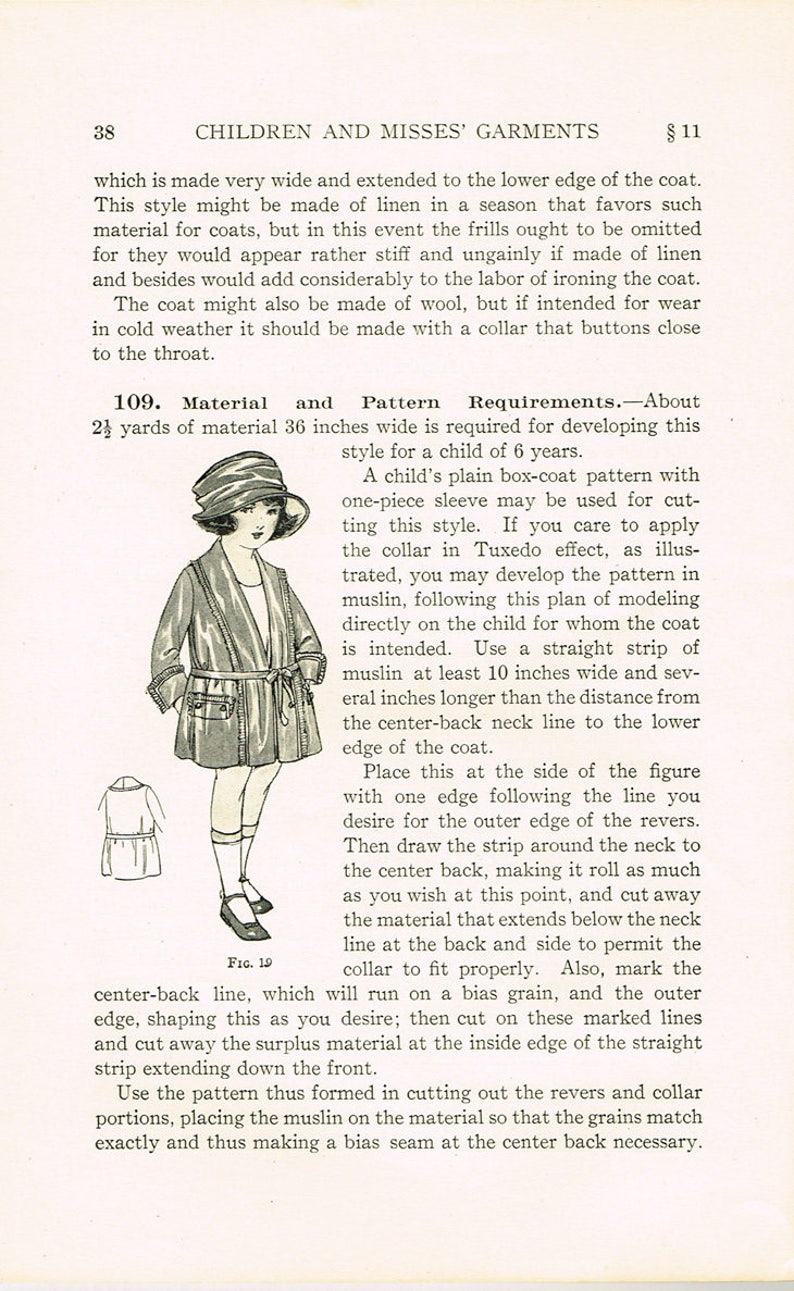 Sammeln & Seltenes 1920er Jahre Brooks Picken Damen Institut Nähen Buch 404 Kleid Entwicklung 1923