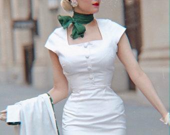 1950s vintage dress | Etsy