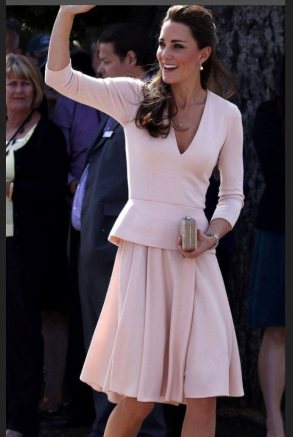 Kate Middleton Vestido Swing Rockabilly Celeb Inspirado Personalizado Hecho