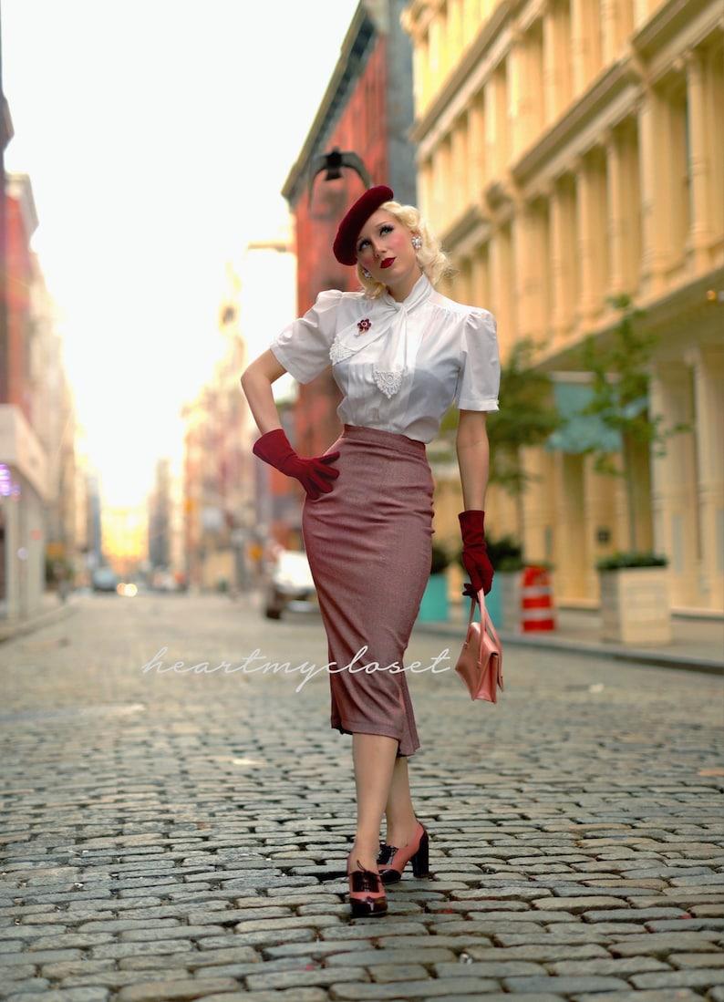 1950s Women's Outfit Inspiration Heart my Closet  AT vintagedancer.com