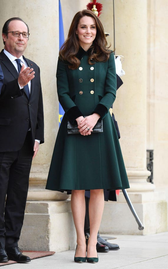 Kate middleton mantelkleid