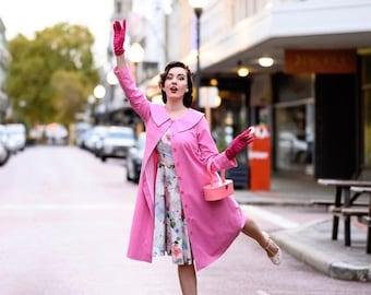 Monica coat - vintage tv inspired coat custom made