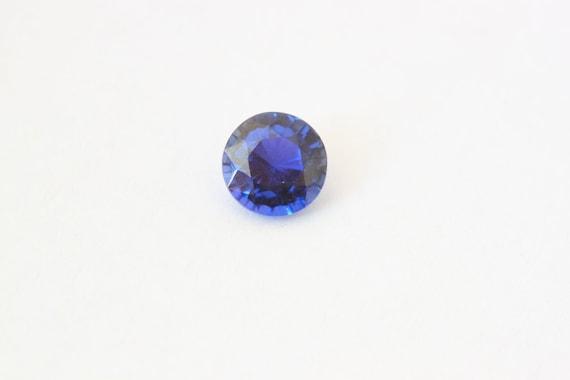 2mm VS Round Loose Natural Gemstone Many Size Best 1x Ceylon Blue Sapphire 1mm