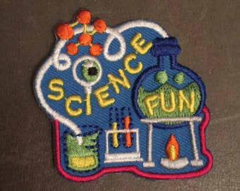 Robotics Merit Badge Science Fiction Patch Etsy