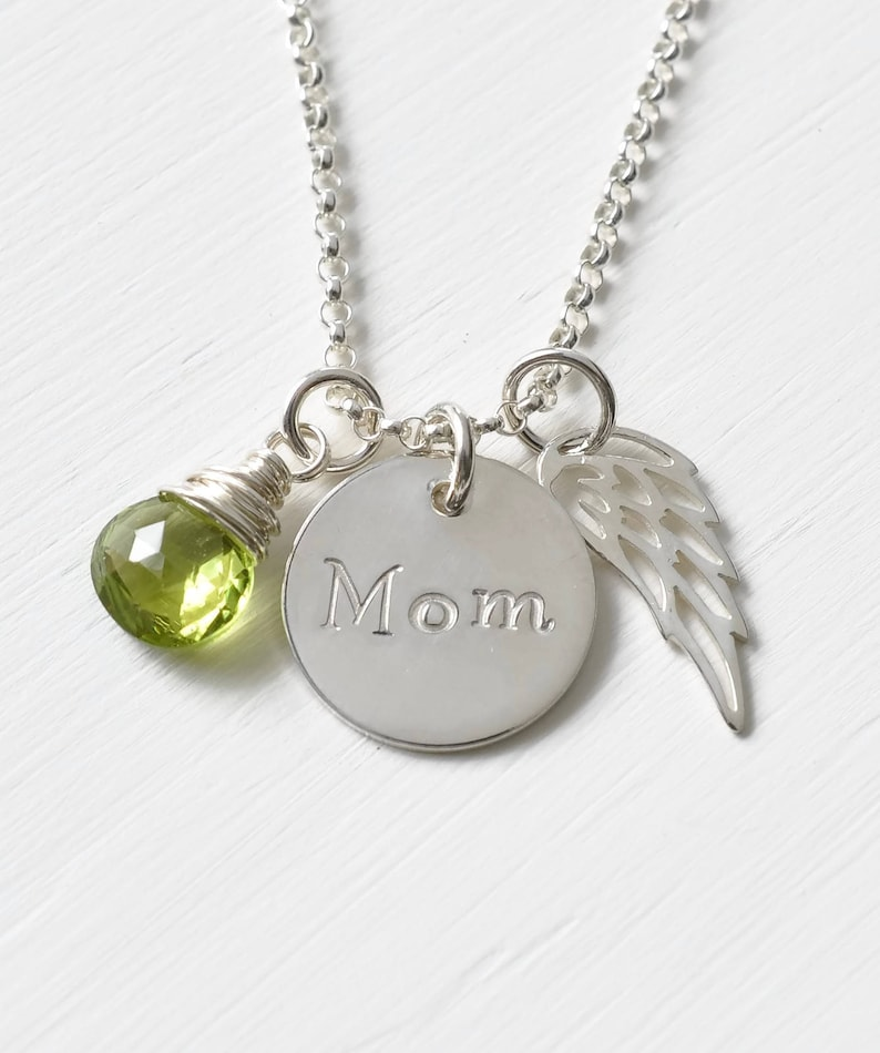 Personnalisé de sympathie carte sur la perte de votre fille délicates ailes d/'ange