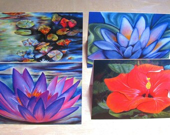 Art Printed Greeting Cards, Original Art Cards, Art Greeting Cards, Art Gift Cards