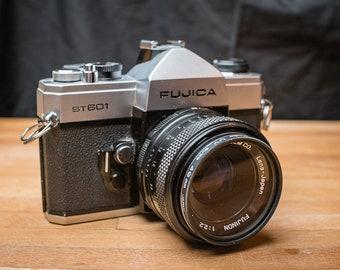 Fujica ST-601 camera w/ 55mm Fujinon lens   Film Photography