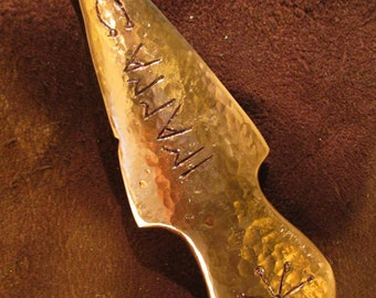 Copper knife Wicca, Shaman, ritual ceremony