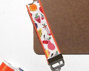 Key Fob Keychain - Summer Fruits