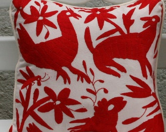 Red Otomi Pillow Sham-Ready to ship