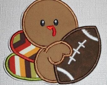 THanksgiving Turkey  Ready to Ship Machine Embroidery iron on applique