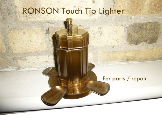 For Repair Or Parts Ronson Touch Tip Table Lighter With Pipe Etsy