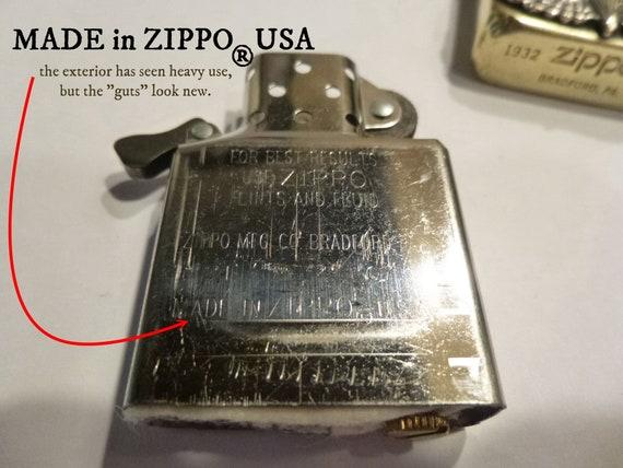 Dating Vintage Zippo aanstekers