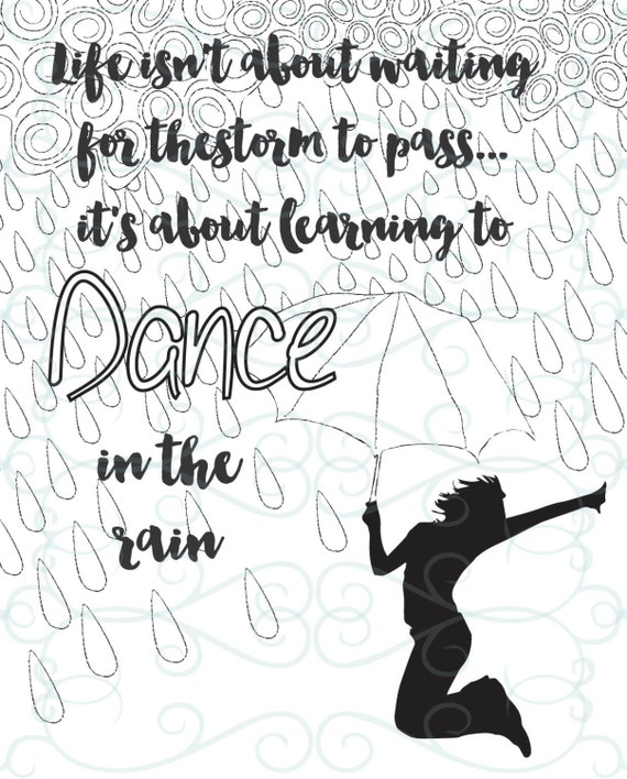 dancing in the rain coloring page inspirational coloring page printable 11 in the 7655