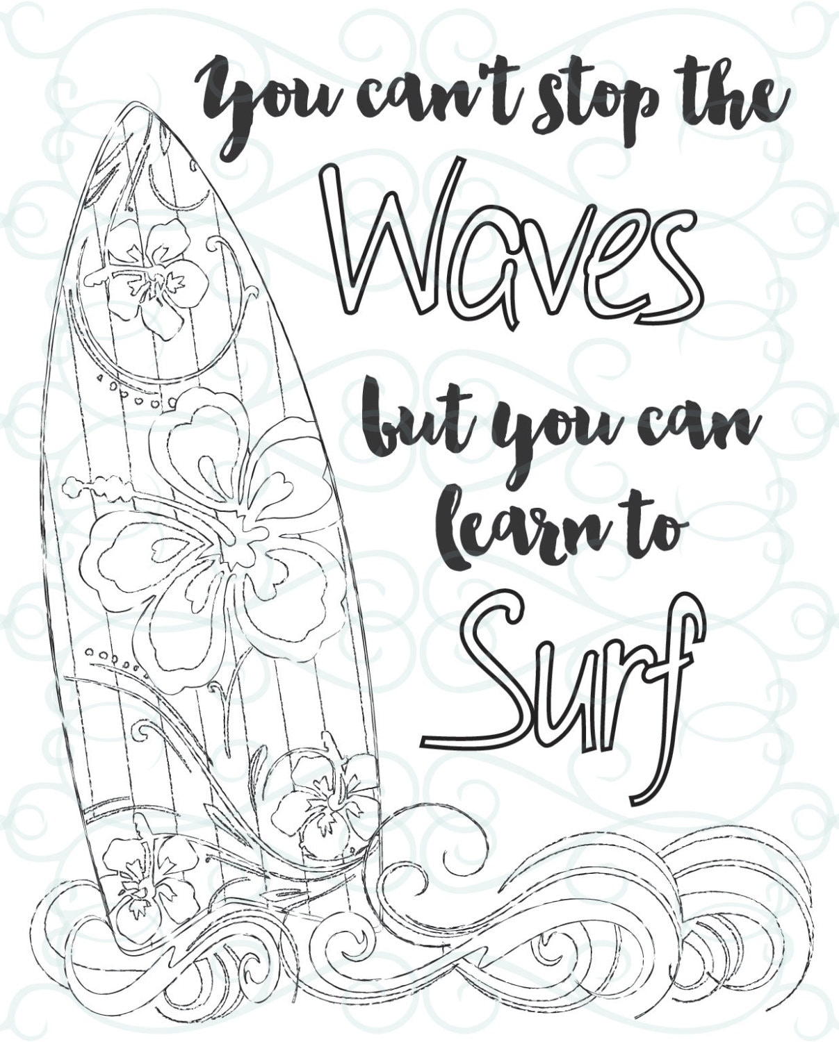 Adult Inspirational Coloring Page printable 03-Learn to ...