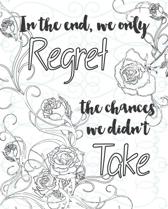 Adult Inspirational Coloring Page printable 13-Take a ...
