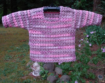 Pullover Sweater for Baby – PB-109 - Crochet Pattern PDF