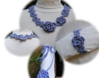 Summer Adornments - PR-301 - Crochet Pattern PDF
