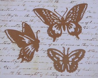 Butterfly Chipboard Die Cut Set