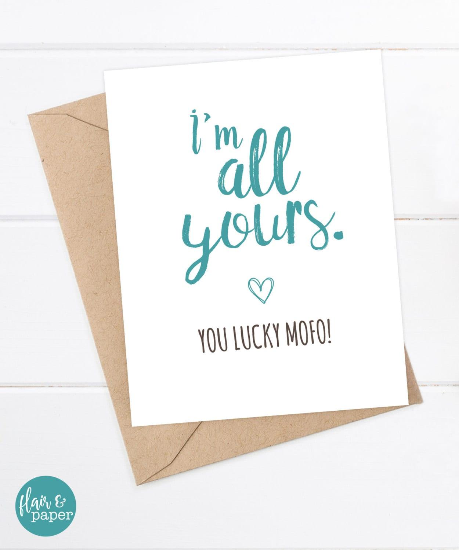 Funny Boyfriend Card Cards Girlfriend Quirky Greeting