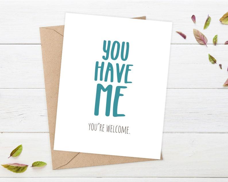 FUNNY BIRTHDAY CARD boyfriend Funny Boyfriend Birthday Card image 0