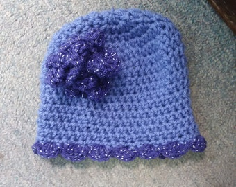 Baby girl hat. Newborn to 3 months uo to 18 mth. SALE! ANY colors