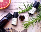 Immune System Wellness Set. 3 Aromatherapy Essential Oil Blends featuring Oregano