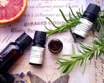 Aromatherapist Practitioner Kit. 12 Essential Oils for Aromatherapy Education. Discounted Set.
