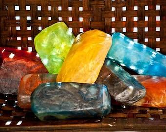 Crystal Gem Mini Aromatherapy  Soap. One Randomly Selected Variety.