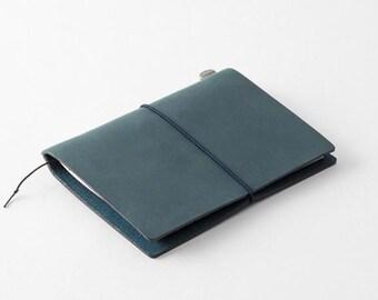 Traveler's Notebook (Passport Size) Starter Kit (Blue Edition)