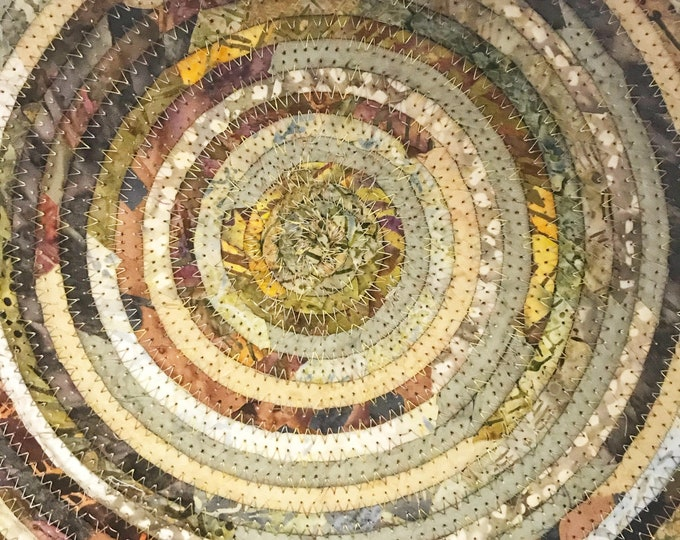 Large Earth tone Fabric Basket