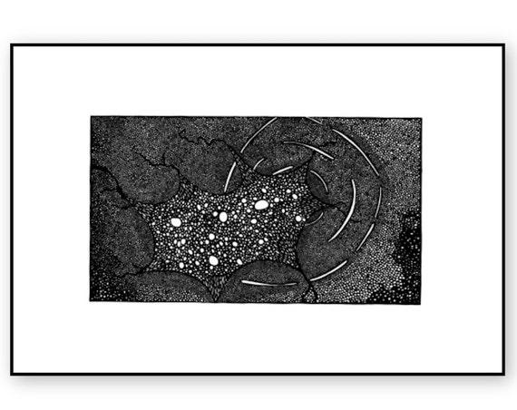 Black Hole Print