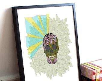 Skull Candy Print